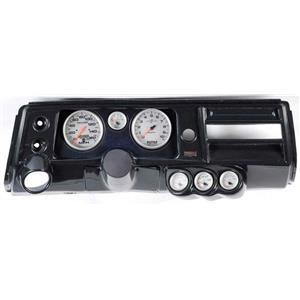 "68 Chevelle Carbon Dash Carrier w/ Auto Meter 5"" Ultra Lite II Gauges w/ Astro"