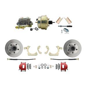 """MBM Front Disc Brake Power Kit 8"""" Booster Standard DBK5558R-GMFS1-204"""