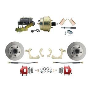 """MBM Front Disc Brake Power Kit 8"""" Booster Standard DBK5558R-GMFS1-205"""