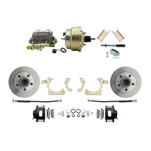 "MBM Front Disc Brake Power Kit 8"" Booster Standard DBK5558B-GMFS1-204"