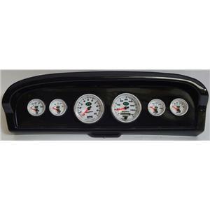 61-66 Ford Truck Carbon Dash Carrier w/Auto Meter NV Gauges