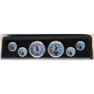 66 67 Nova Black Dash Carrier w/Auto Meter C2 Gauges