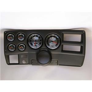 "73-83 GM Truck Black Dash Carrier w/ Auto Meter 5"" American Muscle Gauges"