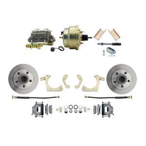 "MBM Front Disc Brake Power Kit 8"" Booster Standard DBK5558-GMFS1-204"