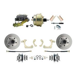 "MBM Front Disc Brake Power Kit 8"" Booster Standard DBK5558-GMFS1-205"