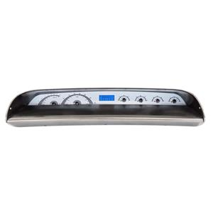 63-64 Chevy Impala VHX System, Silver Face - Blue Display