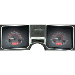 1968 Chevy Chevelle VHX System, Carbon Fiber Face - Red Display