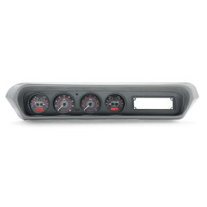 1964-67 Pontiac GTO VHX System, Carbon Fiber Style Face, Red Display