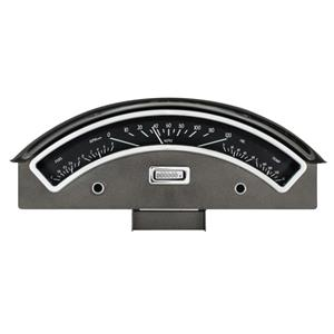 Dakota Digital 57 Ford Car Analog Dash Gauge System Black Alloy White VHX-57F-K-W