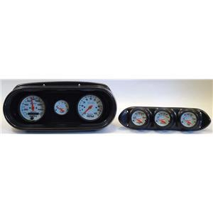 65 Nova Carbon Dash Carrier w/Auto Meter Phantom Electric Gauges