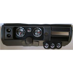 """68 Chevelle Black Dash Carrier w/ Auto Meter 5"""" American Muscle Gauges No Astro"""