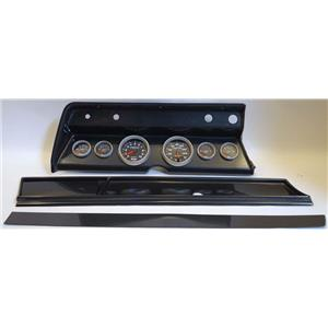 67 Chevelle Carbon Dash Carrier w/ Auto Meter Sport Comp II Gauges