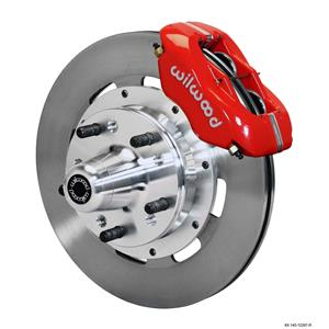 "Wilwood 78-88 Monte Carlo Regal Front Disc Big Brake Kit 12.19"" Plain Rotor Red"