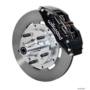 "Wilwood 78-88 Monte Carlo Front Disc Brake Kit 12.19"" Plain Rotor Black"