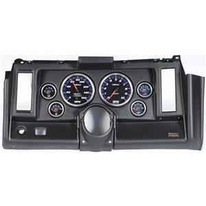 "69 Camaro Black Dash Carrier w/ Auto Meter Cobalt 5"" Gauges"