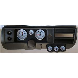 "68 Chevelle Black Dash Carrier w/ Auto Meter 5"" NV Gauges No Astro"