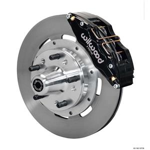 "Wilwood 70-78 Camaro Firebird Front Disc Big Brake Kit 12.19"" Plain Rotor Black"