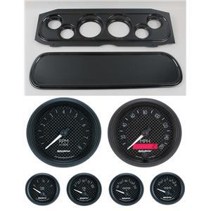 69-70 Cougar Carbon Dash Carrier w/ Auto Meter GT Gauges