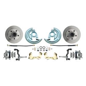 F/X Body Front Disc Brake Wheel Kit Standard Rotor Raw Caliper Stock Height