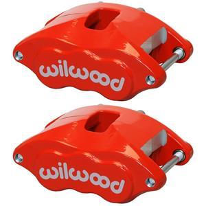 Wilwood GM D52 Dual Piston Calipers PAIR # 120-10937 RED