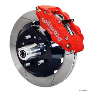 "Wilwood 79-81 Camaro Firebird Front Disc Big Brake Kit 14"" Plain Rotor Red"