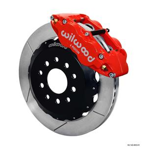 "Wilwood 98-02 Camaro Firebird Front Disc Big Brake Kit 13"" Plain Rotor Red"