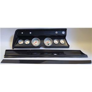 67 Chevelle Carbon Dash Carrier w/ Auto Meter Ultra Lite Electric Gauges