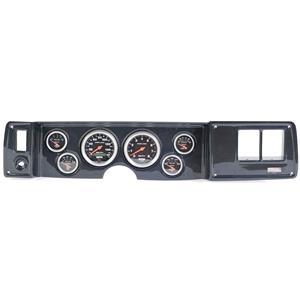 79-81 Camaro Carbon Dash Carrier w/ Auto Meter Sport Comp Electric Gauges