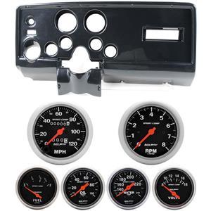 69 Pontiac Firebird Carbon Dash Carrier Auto Meter Sport Comp Mechanical Gauges