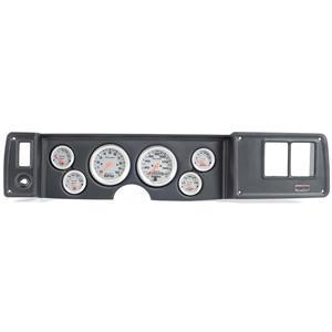 79-81 Camaro Black Dash Carrier w/ Auto Meter Ultra Lite Electric Gauges