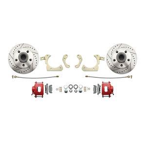 "MBM Front Disc Brake Wheel Kit 11"" Drilled & Slotted Rotor DBK5558LX-R"