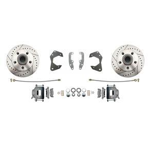 MBM DBK6568LX-M - Chevy Impala Biscayne Performance front disc brake kit