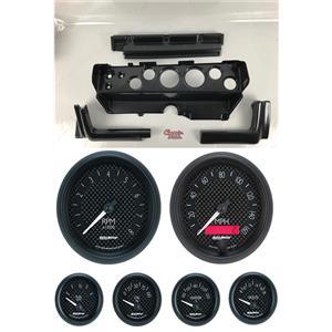 70-74 Mopar E-Body Carbon Dash Gauge Carrier Auto Meter GT Gauges
