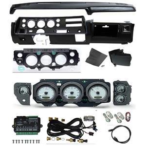 70-72 Chevelle SS Dash Conversion Kit Dakota Digital VHX-70C-CVL Gauges, Dashpad