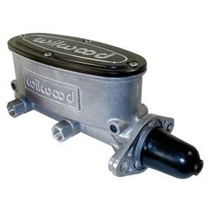"Wilwood 1"" Tandem Aluminum Master Cylinder Natural 260-8555"