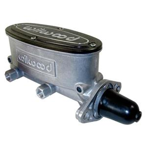 "Wilwood 7/8"" Tandem Aluminum Master Cylinder Natural 260-9439"
