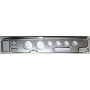 """70-81 Firebird Silver Dash Carrier Panel for 3-3/8"""", 2-1/16"""" Gauges"""