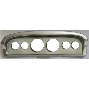 61-66 Ford Truck Silver Dash Panel for Aftermarket Gauges