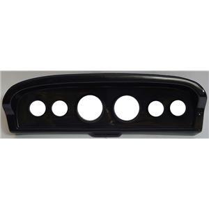 "61-66 Ford Truck Carbon Dash Carrier Panel for 3-3/8"", 2-1/16"" Gauges"