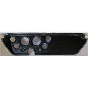 "67 GTO Carbon Dash Carrier Panel for 3-3/8"", 2-1/16"" Gauges"