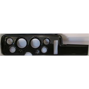 "68 GTO Carbon Dash Carrier Panel for 3-3/8"", 2-1/16"" Gauges"