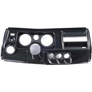 "69 Chevelle Carbon Dash Carrier Panel w/ Astro for 5"", 2-1/16"" Gauges"