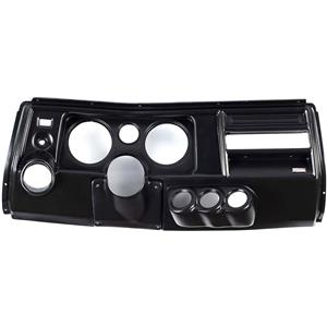 "69 Chevelle Black Dash Carrier Panel w/ Astro for 5"", 2-1/16"" Gauges"