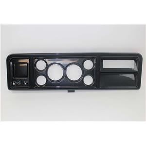 """73-79 Ford Trucks Carbon Dash Carrier Panel for 3-3/8"""" - 2-1/16"""" Gauges"""