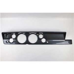 "67-69 Barracuda Carbon Dash Carrier Panel for 5"" - 2-1/16"" Gauges"