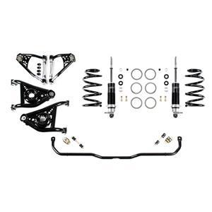 Detroit Speed Speed Kit 2 Front Suspension Kit 1970-1981 Camaro/Firebird Base Shocks SBC/LS