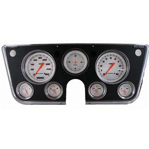 1967-1972 Chevrolet Chevy Truck Direct Fit Gauge Velocity White CT67VSW