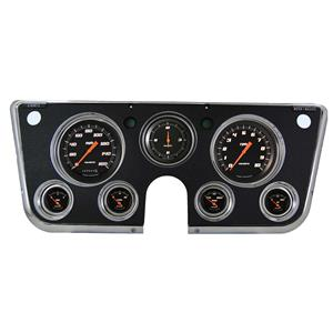 1967-1972 Chevrolet Chevy Truck Direct Fit Gauge Velocity Black CT67VSB
