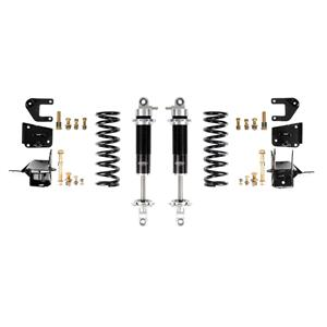 Detroit Speed 64-66 A-Body Rear Coilover Kit Base Shocks Stock Rear Axle