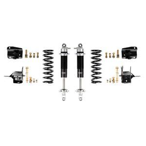 Detroit Speed 68-72 A-Body Rear Coilover Kit Base Shocks Stock Rear Axle